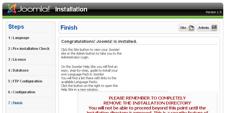 caraku buat web server pake joomla+Xampp di linux_html_68f84a55